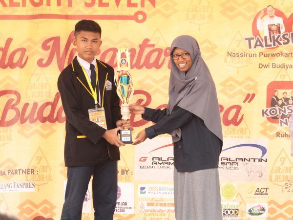 Juara 1 Lomba Fotografi Tingkat Jateng-DIY Starlight Ihsanul Fikri 2019